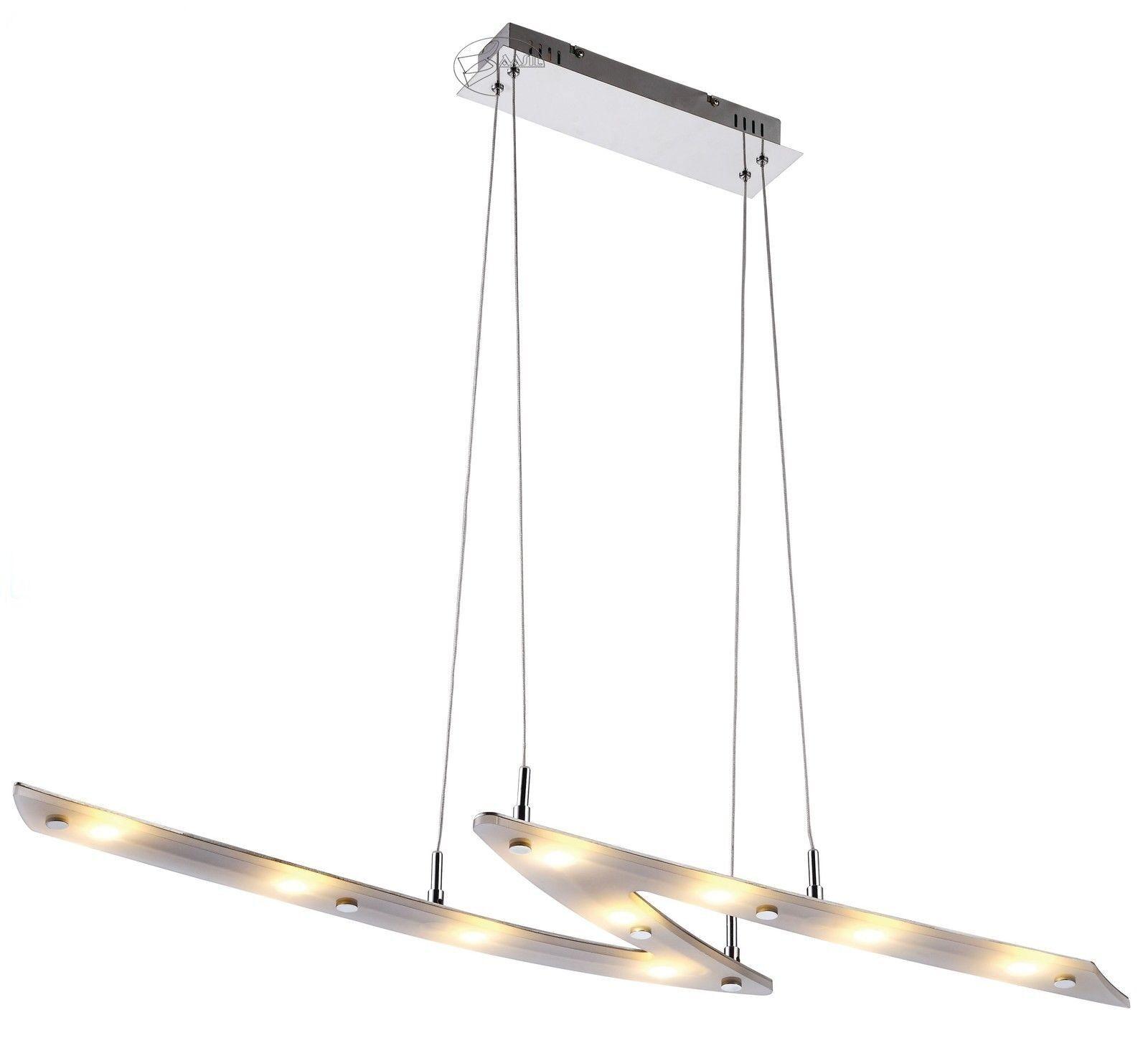 Led Éclairage Suspendu Suspendu Suspendu Sonic Suspension à Femmeger Lumière Blitz-Form Esto | à L'aise  feb056