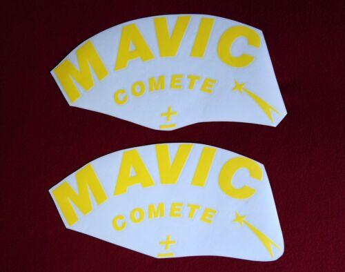 "MAVIC COMETE /""PLUS-MINUS/"" DISC REPLACEMENT DECAL SET FOR 1 DISC!"