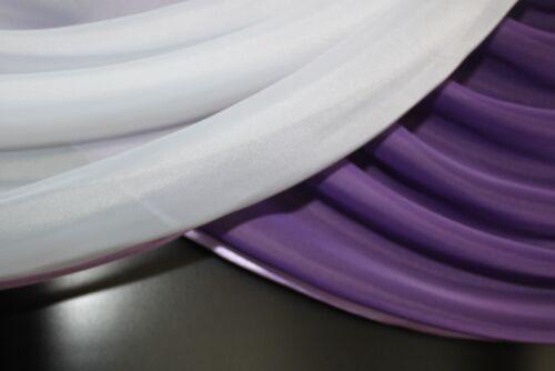 Vorhang in der Farbe lila // weiss Deko Store Gardine