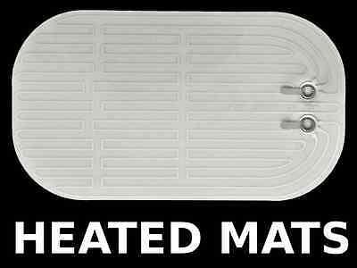 UNIVERSAL MIRROR CAR SIDE GLASS DEFOGGER - HEAT GRID MATS 5.6 x 3.2 12V ELEMENT