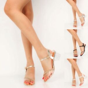 ae579c8ed415 Image is loading 4-colors-Lucite-Transparent-Clear-Rhinestone-Open-Toe-