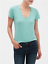 Banana-Republic-Women-039-s-Timeless-Short-Sleeve-V-Neck-Premium-Wash-Tee-T-Shirt thumbnail 16