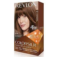 Revlon Colorsilk Beautiful Permanent Hair Color (43) Golden Brown on sale