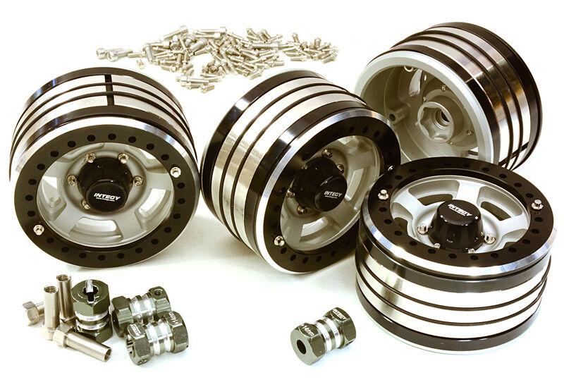 C7034 duro 2,2 x 1,5 pulgadas.Ruedas de alta calidad para una décima parte de las orugas (4), con ruedas de 14 mm