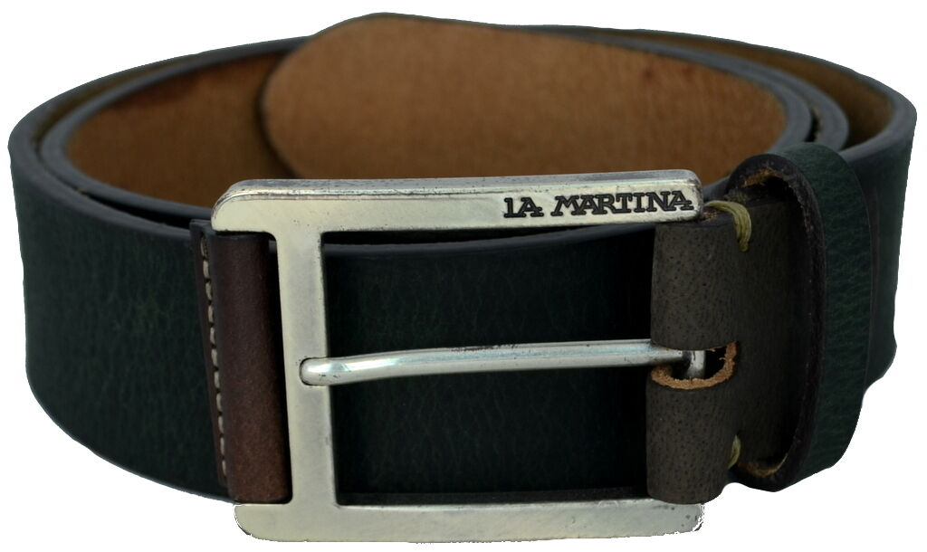 Belt Man Woman Dark Green La Martina Belt Men Woman Dark Green 023.A90