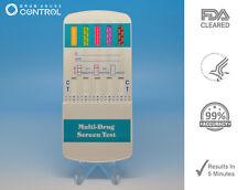 5 Pack 5 Panel Drug Testing Unit - Test for Five Drugs - Test at Home or Work