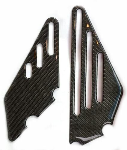 Real carbon fiber BOTH sides DRIVER FOOT PEG REST trim protector Ninja ZZR 1400