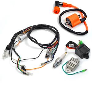 Ignition Coil Spark Plug CDI Wiring Harness Assy For Yamaha Blaster YFS200  97-01   eBay   Spark Plug Wiring Harness      eBay