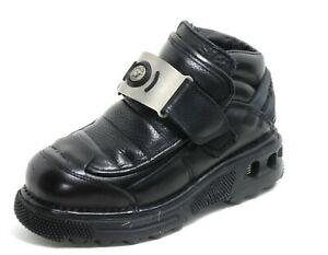 398 Stiefelette Plateau Gothic Leder Boots Men New Rock Metall Original 39,5
