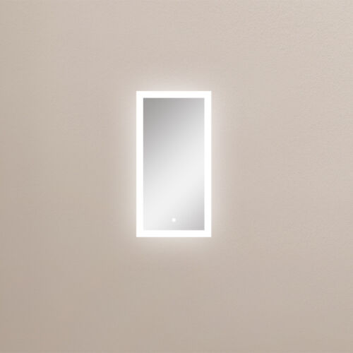 """Dowell 5D001 1831ML LED Mirror Light in ALU Frame w//Touch Switch 16-1//8/""""x31-1//2/"""""""