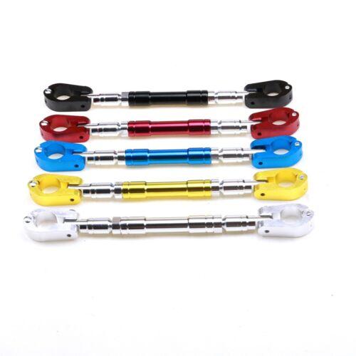 """22mm Aluminum Alloy Motorcycle Handle bar Brace /& Clamp Set 7//8/"""" Dirt Pit Bike"""