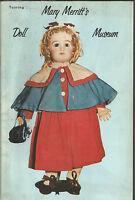 Mary Merritt's Doll Museum- Pamphlet