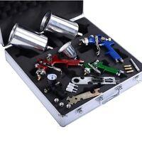 Goplus 3 Hvlp Air Spray Gun Kit Auto Paint Car Primer Detail Basecoat Clearcoat on sale