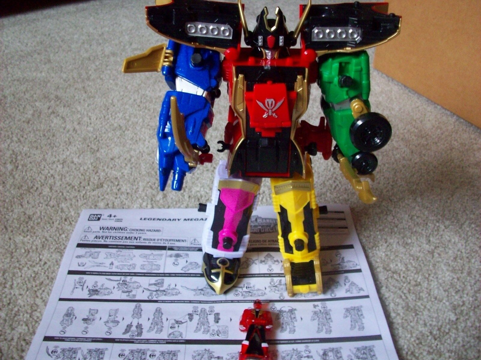 Power rangers megaforce legendären megazord