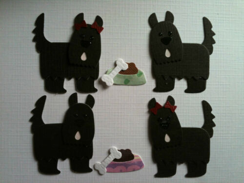 Escocés Terrier Escocés Negro Para Perros Cachorros dado corta