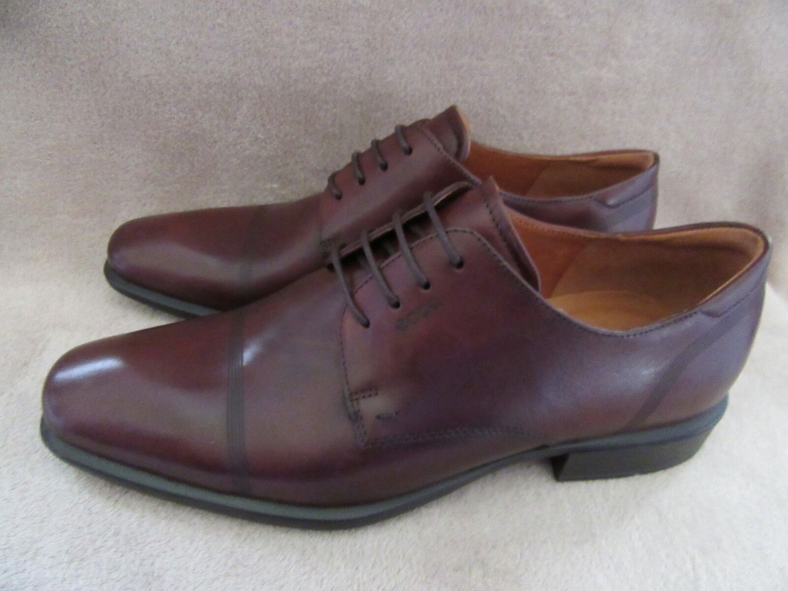 ECCO Uomo Cairo Cap Toe Tie Mink Calf Leather Shoes 10 US 10 Shoes - 10.5 M EUR 44 NWB 1ec72e
