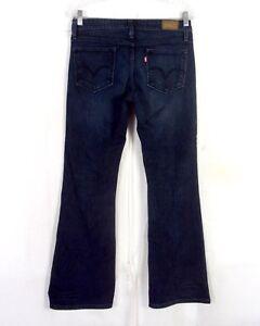3844ca66a1e euc Levis Vintage Flare 572 Blue Ladies Stretch Denim Jeans sz 8M 29 ...