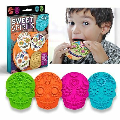Fred & Friends Sweet Spirits Cookie Cutters Day of the Dead Muertos Sugar Skull