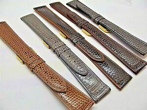 Cinturini-stampa-lucertola-filettata-piatti-ansa-16-18-o-20-mm-watch-strap