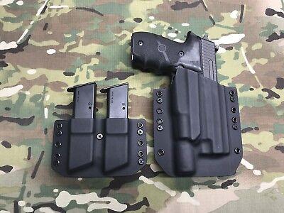 Black Kydex Light Holster SIG P226 Surefire X300 Ultra A w