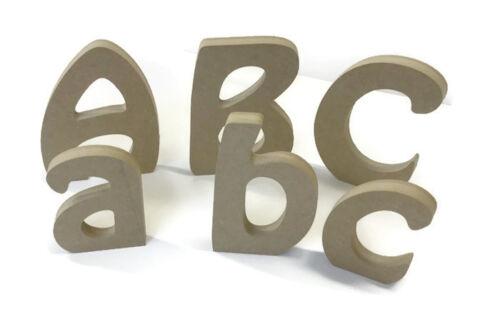 Mdf en bois alphabet lettres /& numéros hobo police divers tailles et épaisseurs