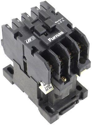 Furnas 21WE40AF 4P 20A 600V Lighting Magnetic Contactor 110//120V Coil 50//60Hz