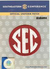 Alabama SEC Conference Jersey Uniform Patch 100% Official College Football Logo