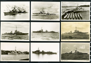 Germany-Cards-35x-Photo-Picture-post-Card-WWII-Ships