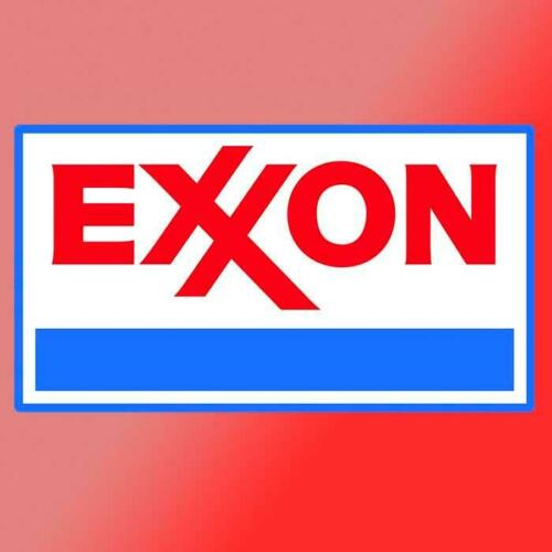 Exxon Mobile Vinyl Decal Sticker Vintage Retro Race Car Muscle Drag Race Rc