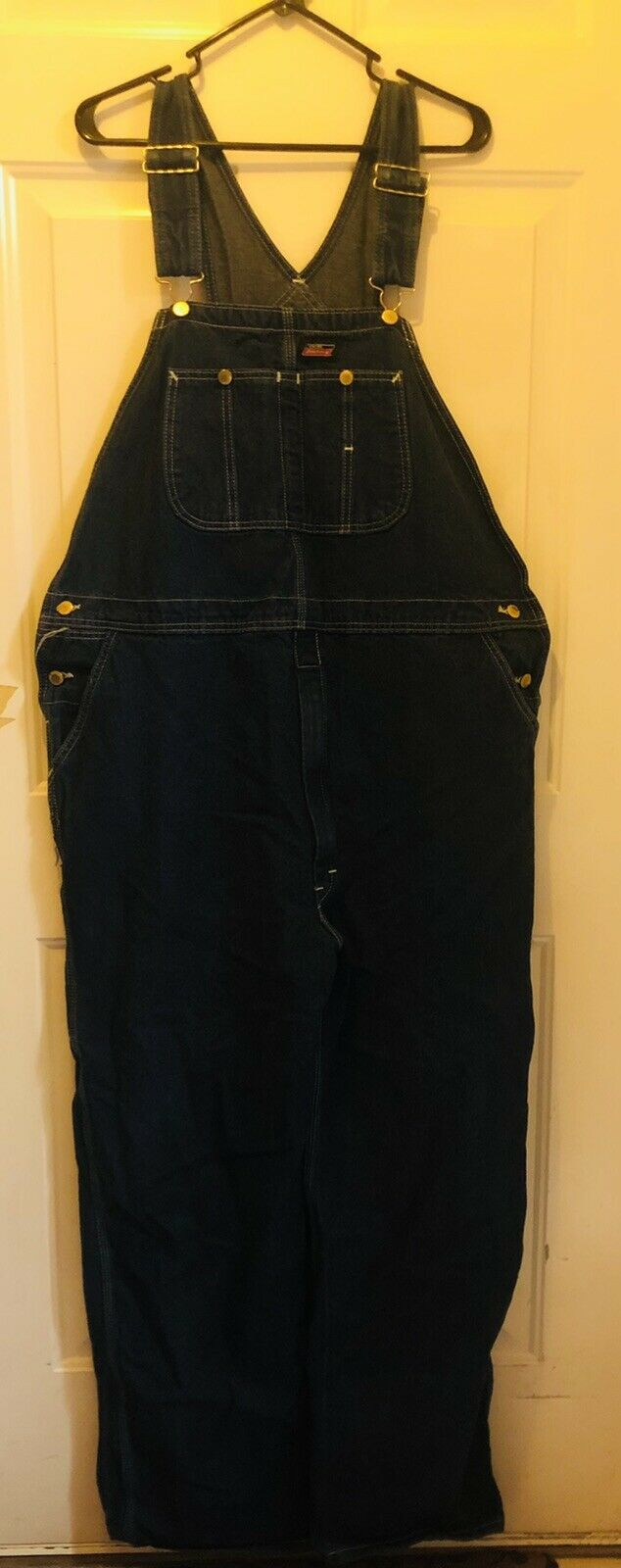Dickies Jeans  Bib Overalls Size 42x32 - image 3