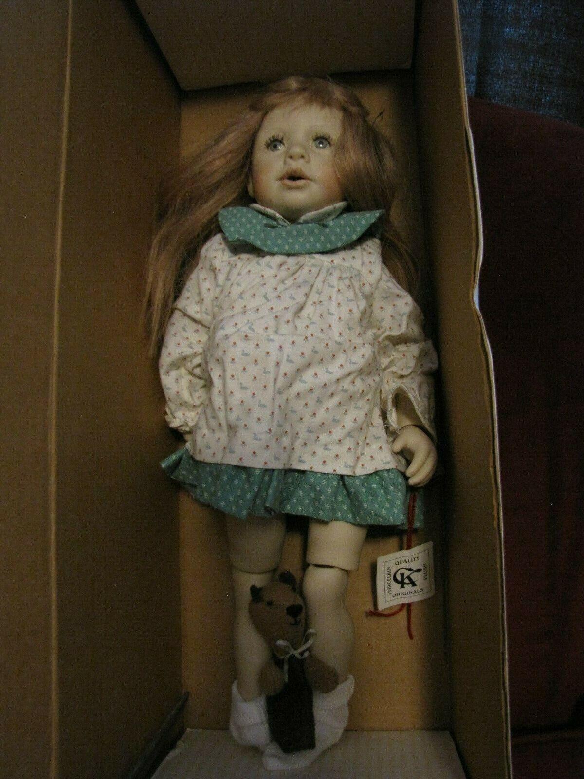 RARE Good-Kruger Fine Arts Series Porcelain Dream Doll