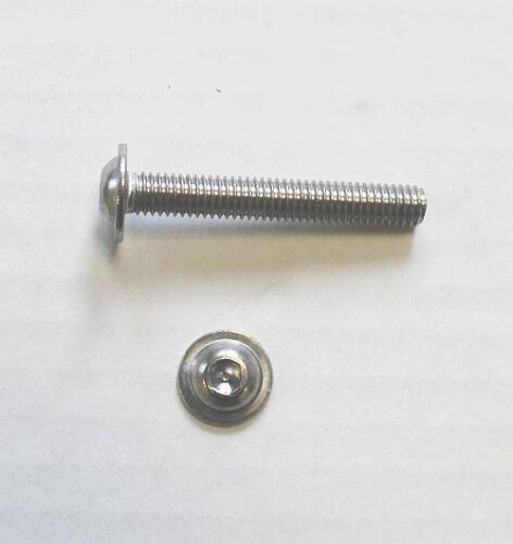 Lentilles Vis Bride ISO 7380 m8x8 à m8x120 Acier Inoxydable v2a Tête Cylindrique