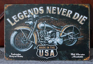 Motor-Metal-Tin-Signs-Plate-Art-Poster-Wall-Bar-decor