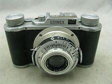 Wirgin Edinex II w/ Edinar 50mm f2.8 Lens 35mm Film Camera with Case ID 7480