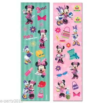 Minnie Mouse Clubhouse Sticker Sheets - 8 Sheets of Stickers