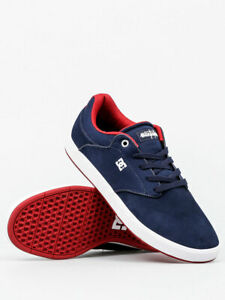 DC-SHOES-MIKEY-TAYLOR-NAVY-RED-NRD-SCARPE-SKATE-SHOES