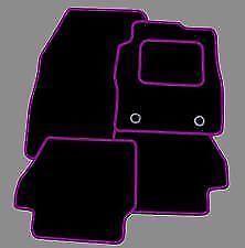 Ford Focus MK3 2015 a Medida Alfombra Alfombrillas De Coche En Negro Mate Púrpura Trim