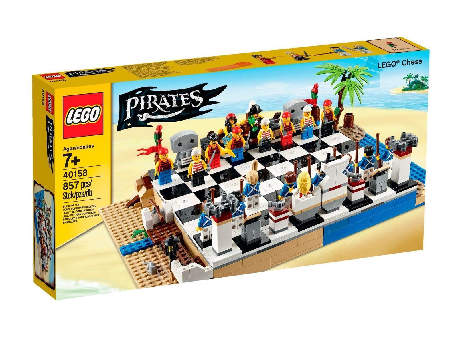 Lego 40158 40158 40158 Pirates Chess Set Pirates vs blueecoats 20 minifigures NEW sealed 9ac540