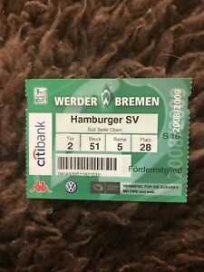 Hsv Bremen Tickets