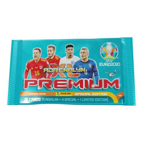 10 Packs UEFA Euro 2020 Adrenalyn XL Premium