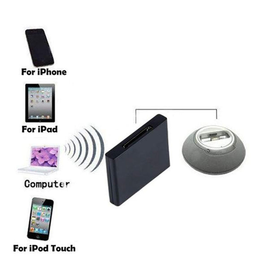 Bluetooth Music Audio Receiver Adapter For Ipod Iphone Dock Speaker Advance Portable Komputer Duo 30 Pin Easy To Use By Connecting Directly A Upgrade The Common Sound Box