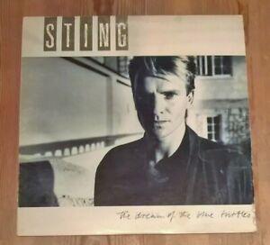 Sting-The-Dream-Of-The-Blue-Turtles-Vinyl-LP-Album-33rpm-1985-A-amp-M-Dream-1