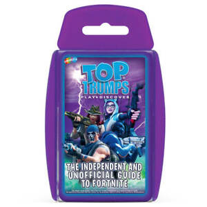 Independent-amp-Unofficial-Top-Trumps-Guide-to-Fortnite-Top-Trumps-Card-Game