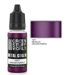 Metallic-Paint-ORCHID-PURPLE-17ml-acrylic-brush-airbrush-modelling-hobby