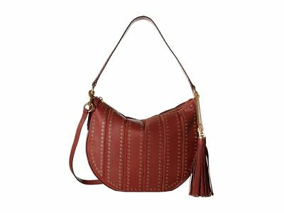 2513855655e028 Pre-owned$109.99. $498 NWT Michael Kors Brooklyn Grommet Applique Medium  Shoulder Hobo Bag Brick