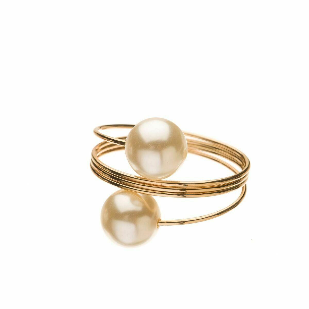 Napkins Pearl Napkin Rings 8pcs Napkin Ring Napkin Rings Wedding Dining Room Handmade Products
