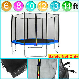 How to repair trampoline net