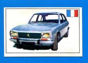 STORIA DELL'AUTOMOBILE Panini 1971-Figurina-Sticker n. 194 - PEUGEOT 504 -Rec