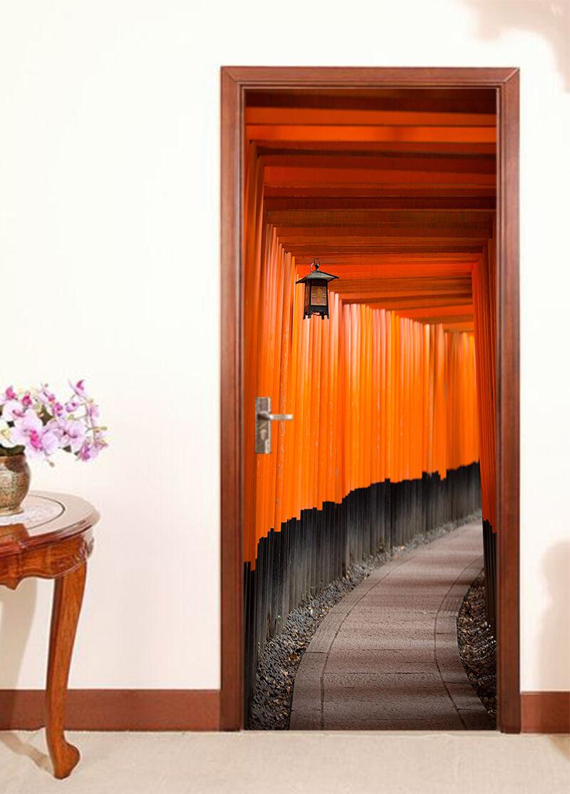 3D Korridor 721 Tür Wandmalerei Wandaufkleber Aufkleber AJ WALLPAPER DE Kyra  | Neue Produkte im Jahr 2019  | Einfach zu spielen, freies Leben  | Erste Klasse in seiner Klasse