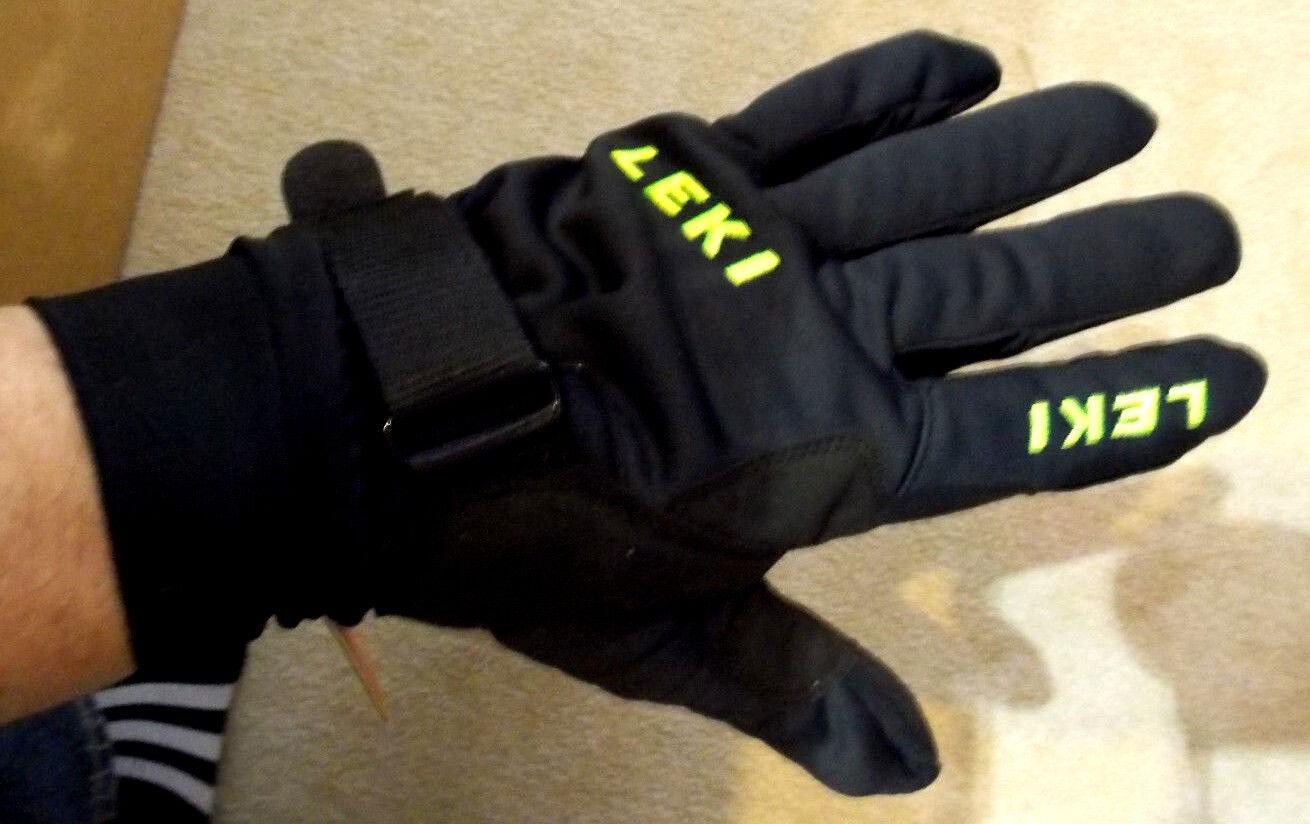 Langlauf Handschuhe von LEKI  SHARK RACING EDITION  Gr. 6,5
